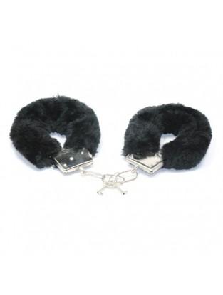 Menottes Fourrure noires