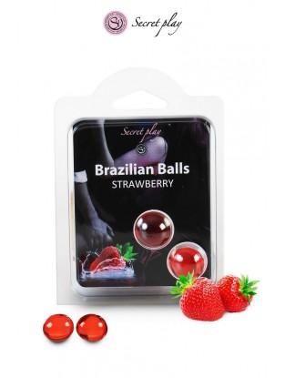 Boule Brésilienne fraise...